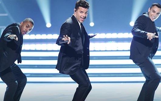 Ricky Martin y su explosiva presentacion