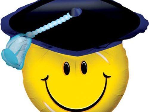 Cuidado con los globos de metal en las fiestas de graduación