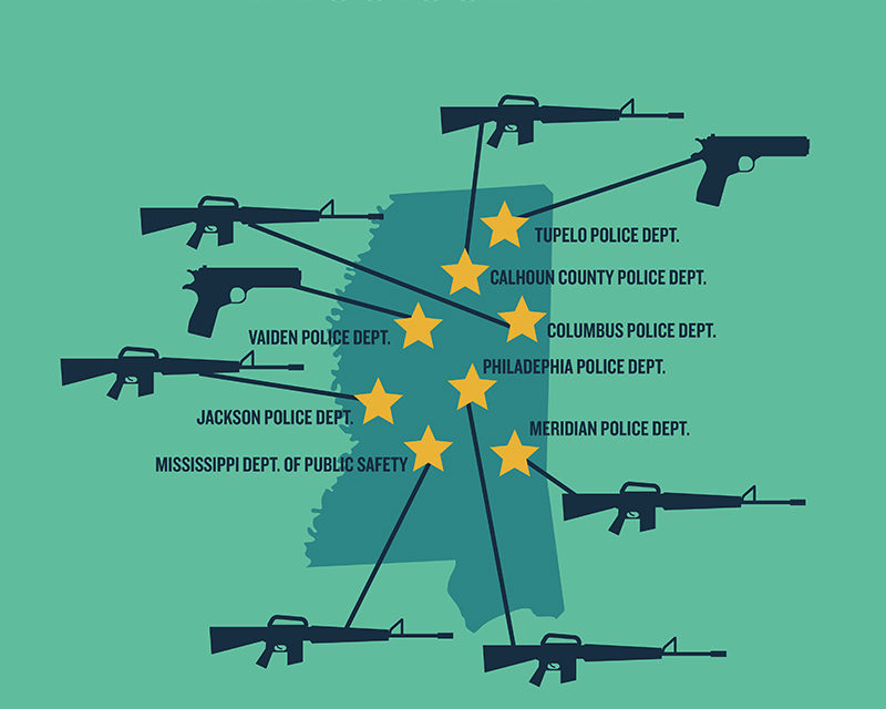 Obama limita a la policía uso de armas militares