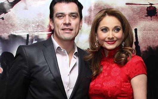 Elizabeth Álvarez y Jorge Salinas esperan mellizos
