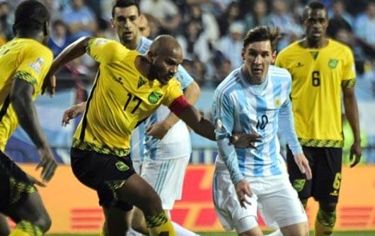 Argentina elimina a Jamaica de la Copa América