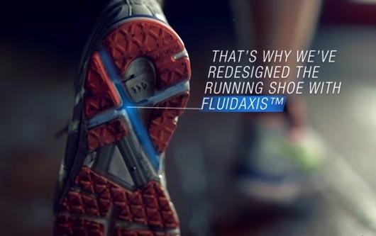 Revolucionado la zapatilla con diseño tecnologico