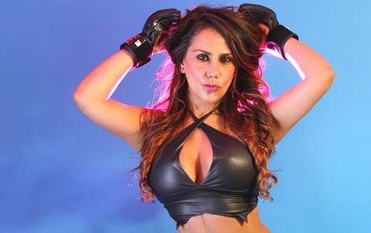 Gretel Jiménez apoya a la UFC