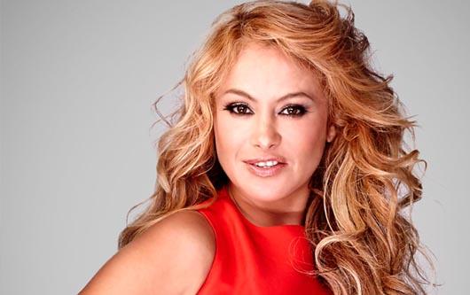 Paulina Rubio la rego