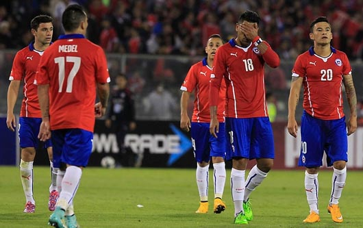 Chile vence 2-0 a Ecuador