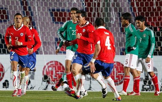 México se enfrenta a Chile