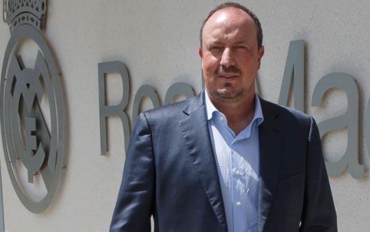 Rafa Benítez, nuevo entrenador del Real Madrid