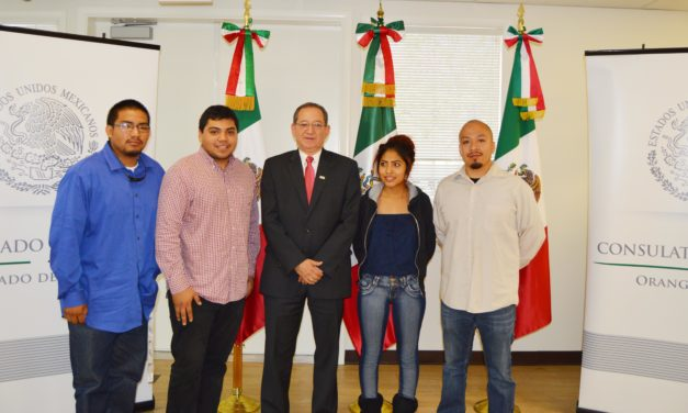 Mario Cueva inicia como Cónsul de México en Santa Ana