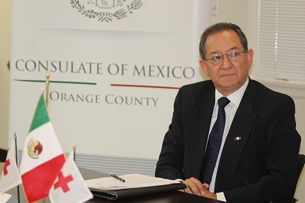 Mario Cuevas nuevo cónsul de México en Orange County