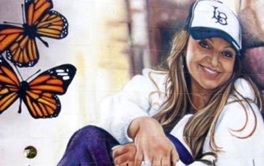 Arruinan Mural En Honor A Jenni Rivera
