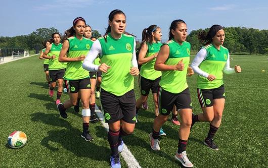 La Selección Femenil de México ya se encuentra en tierras Panamericanas