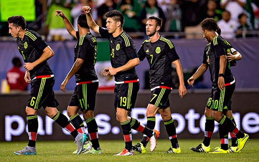 Goleada de México 6-0 sobre Cuba