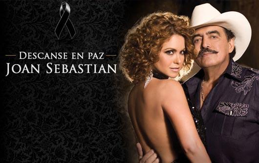 Lucero le dice adiós a Joan Sebastian en un a carta