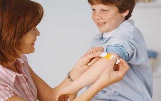 Paperas: ¿Tiene todas sus vacunas sus hijos?