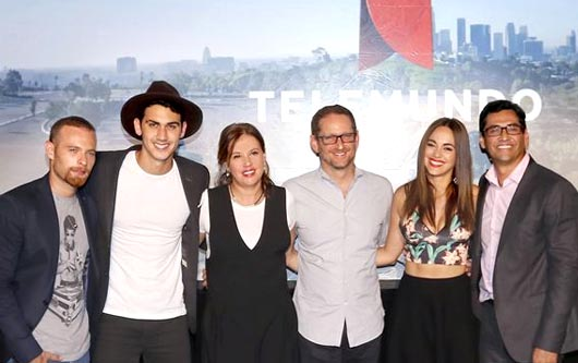 EL elenco de la nueva producción de Telemundo:Bajo El Mismo Cielo