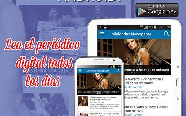 Miniondas tu periódico diario digital lanza su aplicación para teléfonos móviles