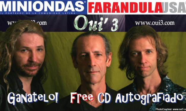 CD autografiado de nuestros amigos de Oui'3
