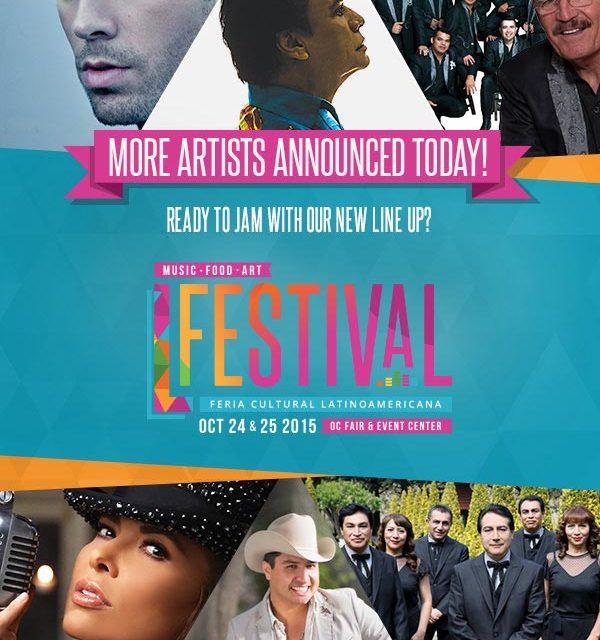 L Festival en Orange County trae a Gloria Trevi, Juan Gabriel y Julión Alvarez entre muchos otros