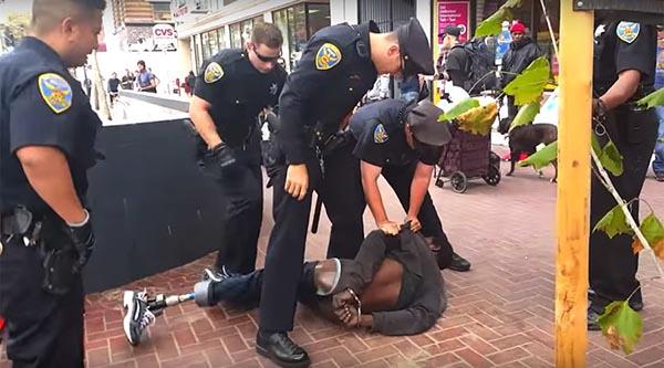 Video de policía de San Francisco inmovilizando discapacitado se hace viral