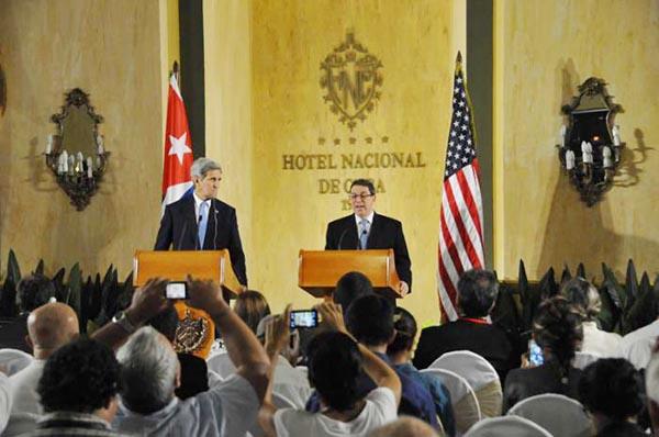 Hay relaciones con Cuba, pero aún seguirá el bloqueo