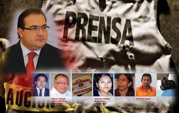 Otro periodista asesinado en Veracruz