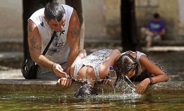 ¡Calor, calor!, el verano más caluroso de que se tiene registro
