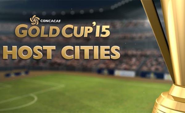 CONCACAF Anuncia Ciudades Sedes, Estadios, Cabezas de Grupos y las Fechas de la Fase de Grupos de la Copa Oro 2015
