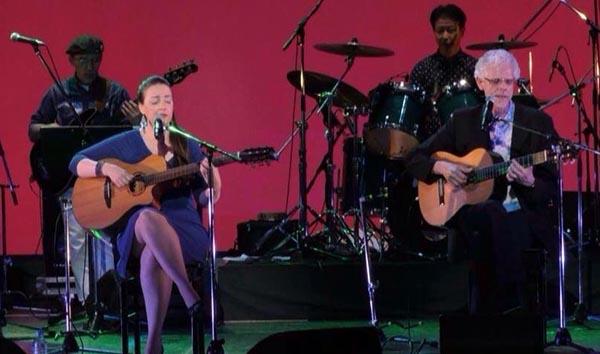 ¡De noche y a cielo abierto: Bossa Nova! con Kay Lyra, Mauricio Maestro y Mark Isbell