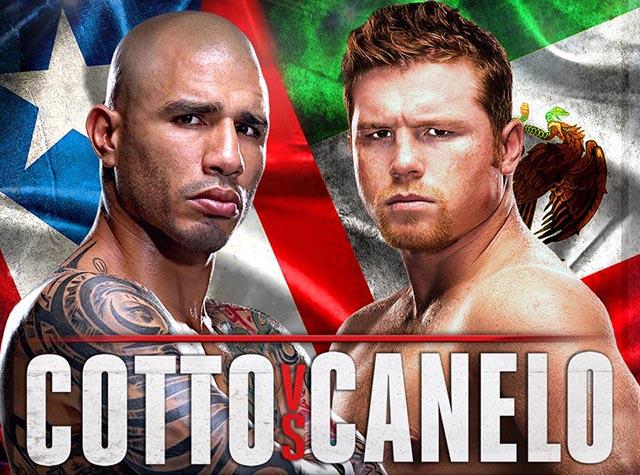 ¡La pelea Cotto Vs Canelo en vivo en las salas de cine!