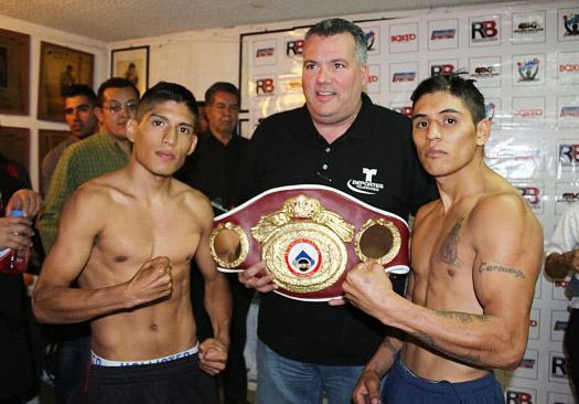 David «Severo» Carmona Vs. Ricardo «Meserito» Rodríguez por campeonato Super Mosca Latino