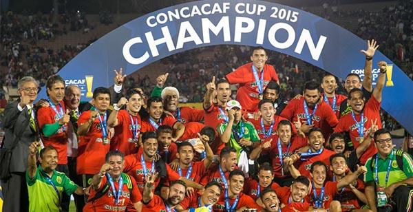 México gana la Copa CONCACAF, clasificó a la Copa Confederaciones