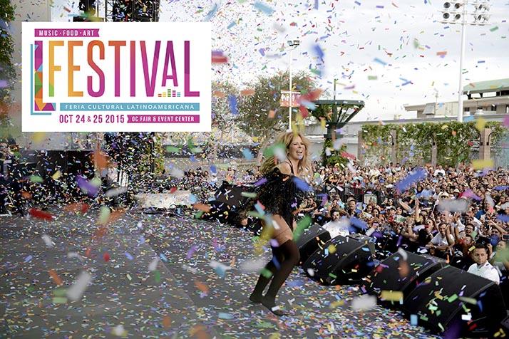 Miniondas estuvo presente cubriendo en vivo L Festival en OC Fair & Event Center