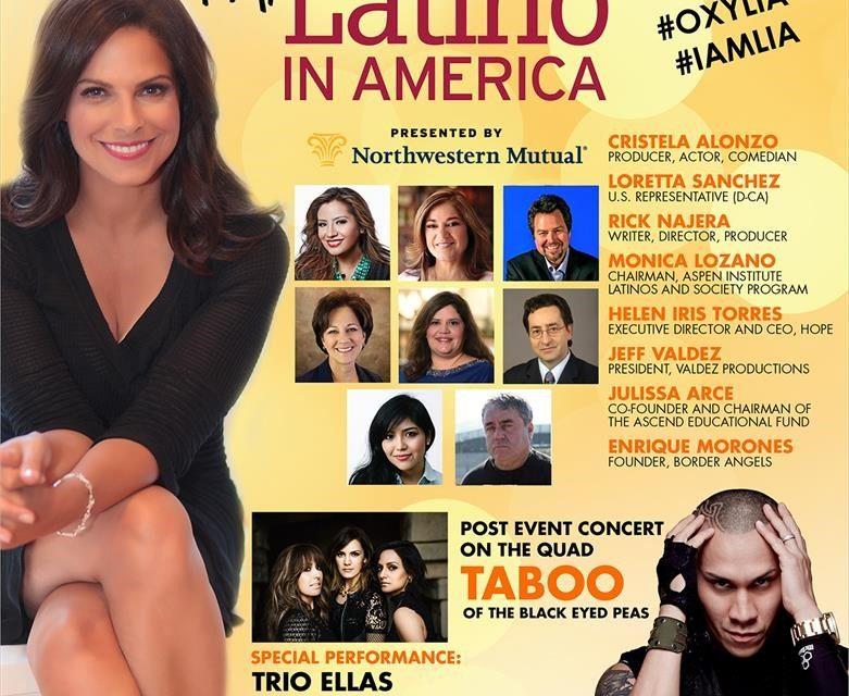I'm Latino in America con Soledad O'Brien estuvo en Occidental College L.A.