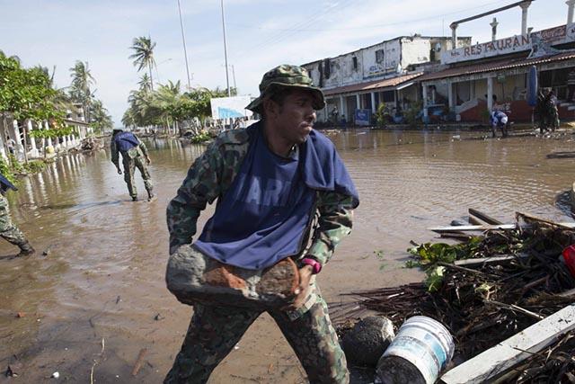 El huracán Patricia se degradó a tormenta tropical