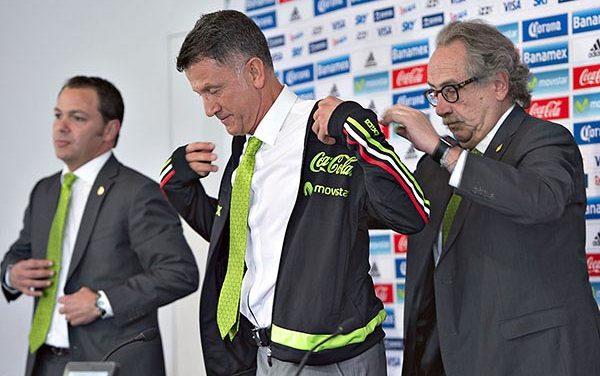 Juan Carlos Osorio presentado como Director Técnico de México