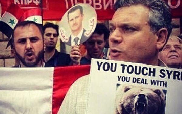 E.U. y Rusia en 'guerra indirecta' en Siria