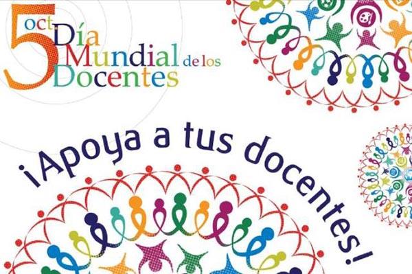 Día Mundial de los Docentes: ¡Felicidades maestros!