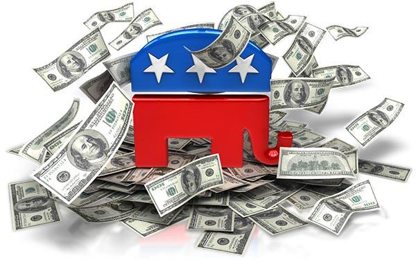 Los 158 más ricos del país financian elecciones presidenciales de 2016 con apoyo mayoritario al Partido Republicano