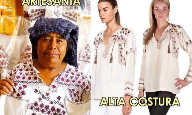 Francesa plagia y patenta diseños indígenas oaxaqueños