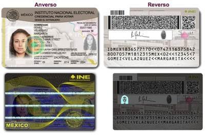 Presenta México modelo de 'Credencial para Votar' desde el extranjero