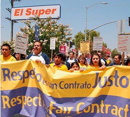 Tiendas El Super se van a huelga
