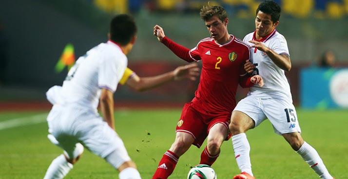 Mundial Sub-17: Bélgica superó a Costa Rica en cuartos de final