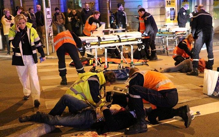 Certero ataque terrorista múltiple en Francia: 127 muertos, 200 heridos, 80 graves