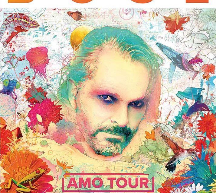 Miguel Bosé en «Amo Tour»  en L.A. y San Diego