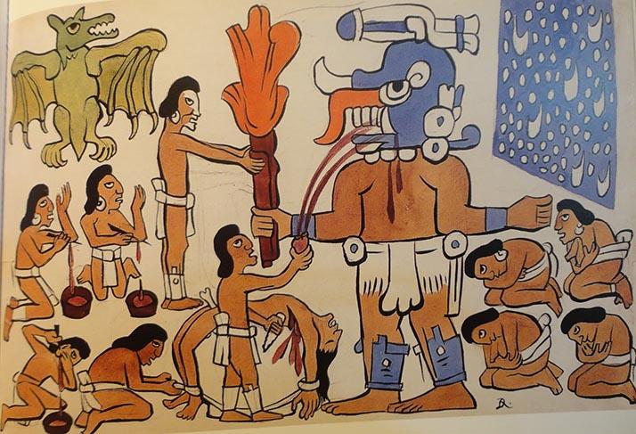 Popol Vuh: Acuarelas de Diego Rivera