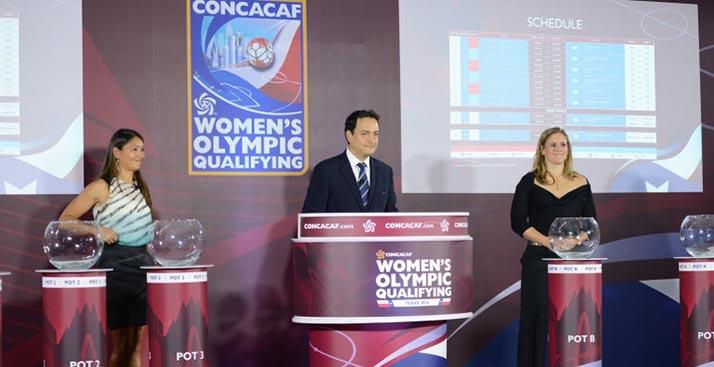 Listo el sorteo del Campeonato Preolímpico Femenino 2016 de CONCACAF