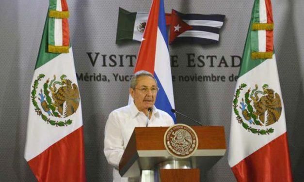 México y Cuba firman acuerdos migratorios