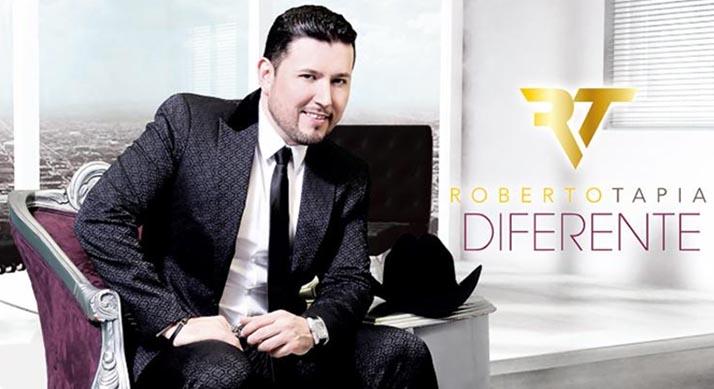 Roberto Tapia estrena «Diferente» hoy cabalístico viernes 13