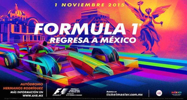 El Gran Premio de Fórmula 1 regresa a México