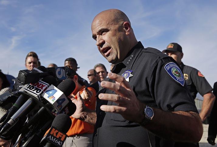 Masacre en San Bernardino, ¡caen abatidos los atacantes!